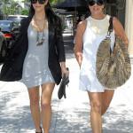 Kim Kardashian & Mom Kris Jenner Could Pass For Twin Sisters!