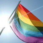 """""""Rainbow Flag"""" by Richard Datchler is licensed under CC BY-NC-ND 2.0"""