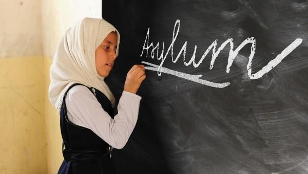 Politically Germany Policy Asylum Refugees Girl