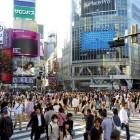Building Shibuya Tokyo Japan Japanese Crowd